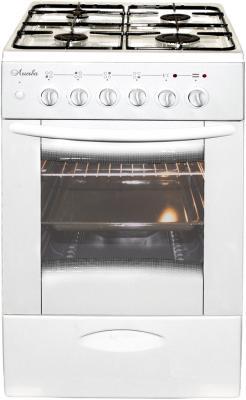 Плита Комбинированная Лысьва ЭГ 404 МС-2у белый (стеклянная крышка) цена