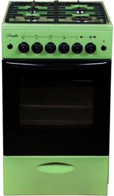 Комбинированная плита Лысьва ЭГ 404 МС-2у зелёный