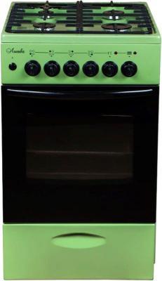 Плита Комбинированная Лысьва ЭГ 404 МС-2у зеленый (без крышки) реш.чугун цена