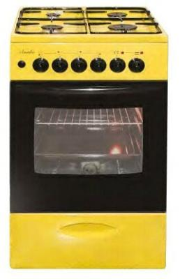 Плита Комбинированная Лысьва ЭГ 404 МС-2у желтый (без крышки) цена