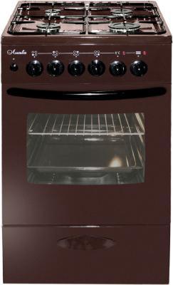Плита Комбинированная Лысьва ЭГ 404 МС-2у коричневый (стеклянная крышка) цена