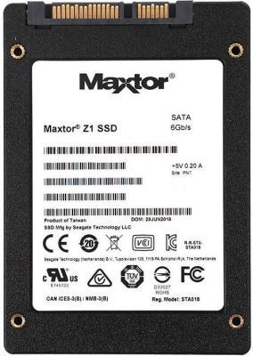 Накопитель SSD Seagate Original SATA III 240Gb YA240VC1A001 Maxtor 2.5 накопитель ssd foxline flssd064x5se 64gb 2 5 sata 3