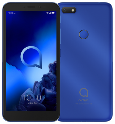 Смартфон Alcatel 1V 5001D 16 Гб синий (5001D-2BALRU1)