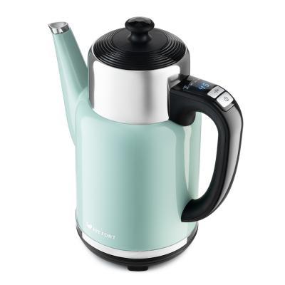 Картинка для 668-3-КТ Чайник Kitfort.Мощность: 1500–1785 Вт.Ёмкость: 1,7 л.Длина шнура: 0,5 м.зеленый.