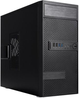 Корпус microATX InWin EFS063BL 500 Вт чёрный (6134715) биметаллический радиатор rifar рифар b 500 нп 10 сек лев кол во секций 10 мощность вт 2040 подключение левое