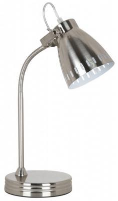 Camelion KD-428 С30 хром (Светильник настольный New York, 1х E27, 40Вт, 230В, металл)