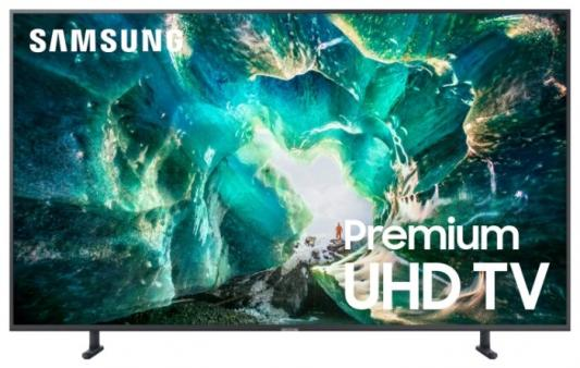 Телевизор LED Samsung 49 UE49RU8000UXRU 8 серебристый/Ultra HD/1000Hz/DVB-T2/DVB-C/DVB-S2/USB/WiFi/Smart TV (RUS)