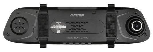 Видеорегистратор Digma FreeDrive 404 MIRROR DUAL черный 2Mpix 1080x1920 1080p 170гр. GP6248