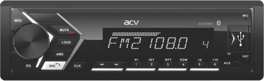 Фото - Автомагнитола ACV AVS-814BW 1DIN 4x50Вт автомагнитола acv avs 812r 1din 4x50вт