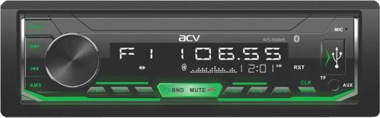 Фото - Автомагнитола ACV AVS-816BMS 1DIN 4x50Вт аудио система acv avs 1718g 1din зелен usb sd fm 4 45