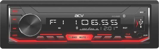 Фото - Автомагнитола ACV AVS-816BR 1DIN 4x50Вт автомагнитола acv avs 812r 1din 4x50вт