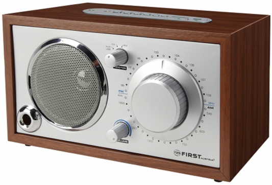1907-2 Радиоприемник FIRST Мощность: 1x4 Вт.Рабочие частоты: AM/FM.Встроенный МР3-плеер.