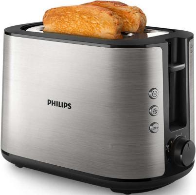 Фото - Тостер Philips HD2650/90 серебристый тостер philips hd 2581 90