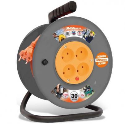 Картинка для Удлинитель Universal ВЕМ-250 30 м 4 розетки