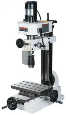Станок фрезерно-сверлильный JET JMD-1  260Вт 100-1000/200-2000об/мин 10мм ход 30мм