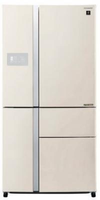 Холодильник Sharp SJ-PX99FBE бежевый (пятикамерный) холодильник sharp sj gf60ar