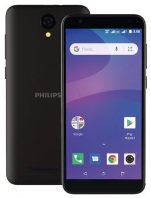 Смартфон Philips S260 8 Гб черный philips massive светильник уличный philips 15387 30 16