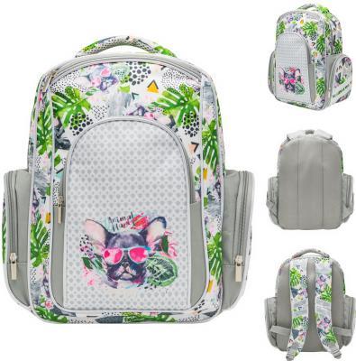 Рюкзак ANIMAL PLANET DOG COOL, разм37x26x12 см.,уплотненная спинка,световозвр.элементы,д/девочек
