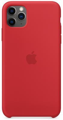 Фото - Чехол Apple Silicone Case - (PRODUCT)RED для iPhone 11 Pro Max красный (MWYV2ZM/A) чехол для apple iphone 11 pro max silicone case midnight blue mwyw2zm a