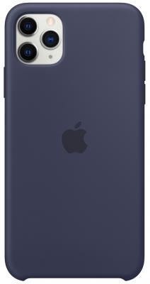 Фото - Чехол Apple Silicone Case для iPhone 11 Pro Max синий (MWYW2ZM/A) чехол для apple iphone 11 pro max silicone case midnight blue mwyw2zm a