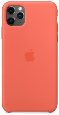Фото - Чехол Apple Silicone Case для iPhone 11 Pro Max оранжевый (MX022ZM/A) чехол для apple iphone 11 pro max silicone case midnight blue mwyw2zm a