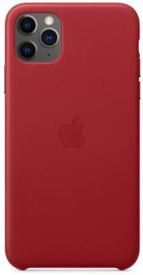 кожаный чехол apple leather case для iphone 8 7 цвет product red красный mqha2zm a Чехол Apple Leather Case - (PRODUCT)RED для iPhone 11 Pro Max красный