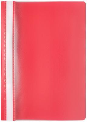 Фото - Папка-скоросшиватель, красная, эконом, ф А4 папка меню ф а4 pvc ассорти
