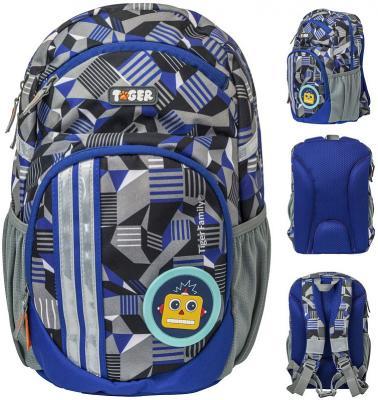 Рюкзак LIVELY ELECTROLYTE, 2 съемн.апп , разм.34х20х15/33x19x14 см, анат.спинка, серый, для мал. цена и фото