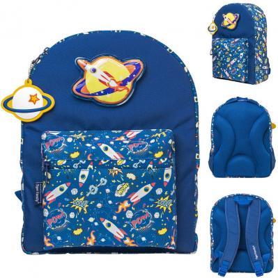 Купить Рюкзак ROCK-IT UP, размер 37х27х14/36х26х10 см, со съемной световой апликацией. для мальчиков, Tiger Enterprise, Ранцы, рюкзаки и сумки
