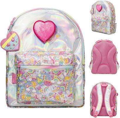 Купить Рюкзак SWEET CAKE, размер 37х27х14/36х26х10 см, со съемной световой апликацией. для девочек, Tiger Enterprise, Ранцы, рюкзаки и сумки