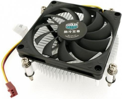 цена на Cooler Master CPU Cooler H115, Intel 115*, W, Al, 3pin, Ultra low profile