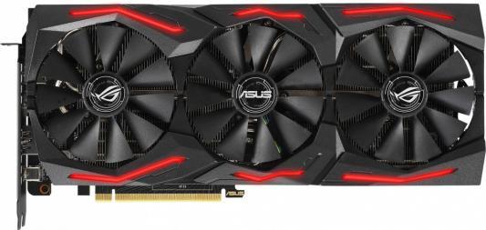 Видеокарта ASUS nVidia GeForce RTX 2060 SUPER ROG Strix PCI-E 8192Mb GDDR6 256 Bit Retail (ROG-STRIX-RTX2060S-8G-GAMING) цена 2017
