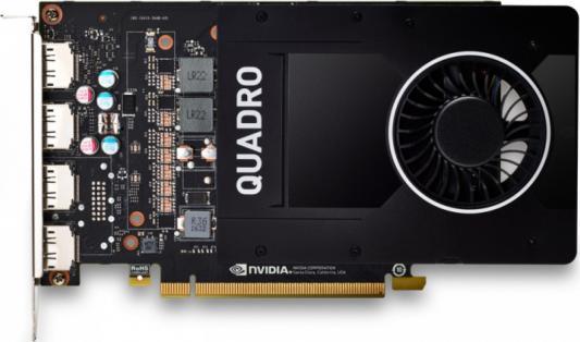 Видеокарта PNY Quadro P2200 VCQP2200-PB PCI-E 5120Mb GDDR5X 160 Bit Retail видеокарта 1024mb pny quadro nvs 315 pci e dvi 2xdp low profile vcnvs315dp pb retail
