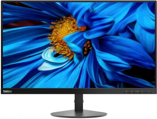 "Монитор 24"" Lenovo ThinkVision S24e-10 черный VA 1920x1080 250 cd/m^2 4 ms VGA HDMI Аудио 61CAKAR1EU"
