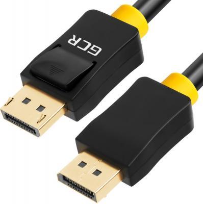Фото - Кабель DisplayPort 7м Green Connection 33-050582 круглый черный кабель vga 1м green connection 33 050610 круглый черный