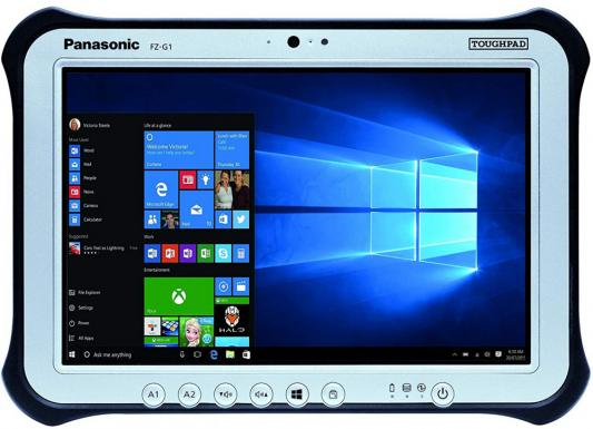 Полностью защищенный планшет FZ-G1mk5 Core i5-7300U, 2.4Ghz, 3Mb cache, 8Gb DDR3, 256Gb SSD, 10.1 WUXGA(IPSa) 1920x1200, BT, WiFi, HDMI, 1xUSB3.0, RearCam(8MP), Win10 Pro фото