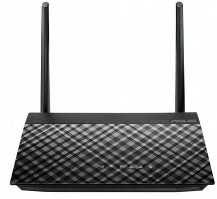 Беспроводной маршрутизатор ASUS RT-AC51 802.11bgn 733Mbps 2.4 ГГц 5 ГГц 4xLAN USB черный (90IG0550-BR3410) беспроводной маршрутизатор asus rt ac 5300