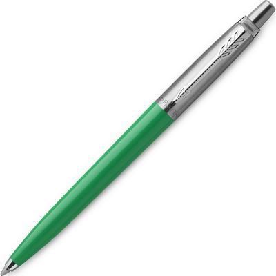 Ручка шариковая автоматическая, 1 (M) мм, синий цв. чернил, глянцевый, зеленый корп., пластик/ нержавеющая сталь, нет, PARKER, JOTTER ORIGINALS PLASTIC, блистер с е/п parker шариковая ручка jotter originals plastic k60 m 2076054 синий цвет чернил