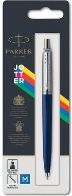 Ручка шариковая автоматическая, 1 (M) мм, синий цв. чернил, глянцевый, оранжевый корп., пластик/ нержавеющая сталь, нет, PARKER, JOTTER ORIGINALS PLASTIC, блистер с е/п parker шариковая ручка jotter originals plastic k60 m 2076054 синий цвет чернил
