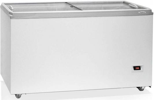 лучшая цена Морозильный ларь Бирюса Б-455DZQ белый