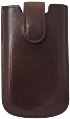 Чехол для моб. телефона PRESTIGIO, кожа, коричневый, разм. 125*75 мм герметичный чехол tribord водонепроницаемый чехол маленького размера для телефона ipx7