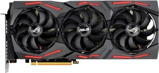 Видеокарта Asus PCI-E 4.0 ROG-STRIX-RX5700XT-O8G-GAMING AMD Radeon RX 5700XT 8192Mb 256bit GDDR6 1840/14000/HDMIx1/DPx3/HDCP Ret