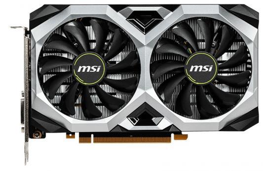 Видеокарта MSI GeForce GTX 1660 Ti VENTUS XS OCV1 PCI-E 6144Mb GDDR5 192 Bit Retail (GTX 1660 TI VENTUS XS 6G OCV1) видеокарта msi geforce gtx 1070 ti gtx 1070 ti gaming 8g pci e 8192mb 256 bit retail