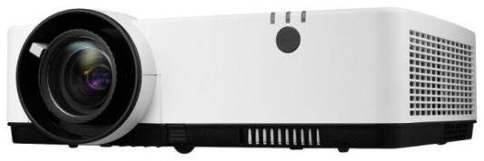 Фото - Проектор NEC ME382U (ME382UG), 3LCD, 3800 ANSI Lm, WUXGA, 16000:1, 1.22:1, VGAin, 2 x HDMI, video RCA, audio RCA Stereo IN x2, 3.5mm audio IN x2, USB b, USB A 2.0 (Power), VGAout, 3.5mm audioOut, RJ45, RS232, 16W, 29/37 дБ, 3,5 кг, fx audio d802 remote control input usb coaxial optical hifi 2 0 pure digital audio amplifier 24bit 192khz 80w 80w oled display