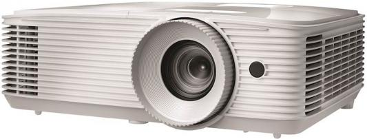 Фото - Проектор Optoma EH335 Full 3D; DLP, Full HD(1920*1080),3600 ANSI Lm, 20000:1;TR=1.48-1.62:1; HDMI (1.4a) x2+MHL; VGA IN; Composite; AudioIN 3.5mm; VGA Out x1; AudioOUT 3.5mm; RJ45;RS232; USB A(Power 1.5A); 10W; 27 дБ; 2.93 kg;(E1P1A0PWE1Z1) optoma eh334 full 3d