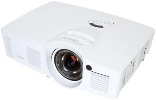 Проектор Optoma EH200ST Full 3D; DLP, HD (1920x1080), FULL 3D, 3000 ANSI Lm, 20000:1;16:9; (0.49:1 - фикс.); HDMI v1.4 x2+MHL v1.2; Audio Out 3.5mm;12V Trigger;3D-Sync; USB Service;10W.; 26 dB; 2.65 kg, белый (95.8ZF01GC0E.LR)