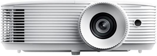 Фото - Проектор Optoma HD29H Full 3D для домашнего кинотеатра,DLP,Full HD (1920x1080), поддержка HDR, 3400 ANSI Lm, 50000:1,16:9; TR 1.47-1.62:1;HDMI v2.0 x 1; HDMI x 1; Audio Out 3.5mm;3D-Sync;USB-A 1.5 A;10Вт.; 25dB; 2.87 kg. белый (E1P0A2IWE1Z2) кеды мужские vans ua sk8 mid цвет белый va3wm3vp3 размер 9 5 43