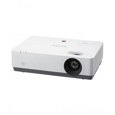 """Проектор Sony [VPL-EX455] 3LCD (0,63""""),3600 ANSI Lm,XGA (1024x768),20000:1,(1.37-1.80:1);VGA In x2 ;HDMI x2,S-Video x1;Композитный x1;VGA OUTx1;Audio IN/OUT,USB(A),USB(B),RS232x1;RJ45x1;16Втх1,Wi-Fi-опция; до 10000ч. 3.9 кг."""