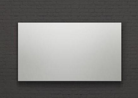 Фото - [LCT-100104] Экран Lumien Cinema Infinity рабочая/общая область 125x221 см (100), полотно Matte White обернуто вокруг рамы, 16:9 (2 места) кеды мужские vans ua sk8 mid цвет белый va3wm3vp3 размер 9 5 43