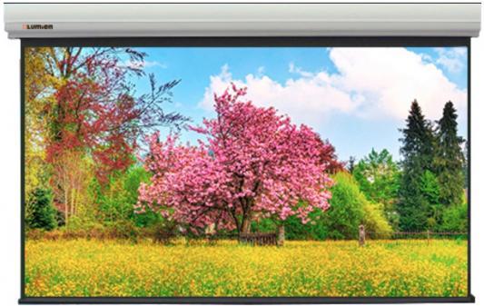 Фото - [LMLC-100105] Экран с электроприводом Lumien Master Large Control 327x560 см (раб. область 309x550 см) (248) Matte White FiberGlass черн. кайма по периметру, стальной корпус 16:9, IR и RF управление входит в комплект [lmf 100131] экран lumien master fold 203x348 см 150 раб область 187х332 см front projection rear projection два полотна в комплекте черн кайма по периметру 16 9